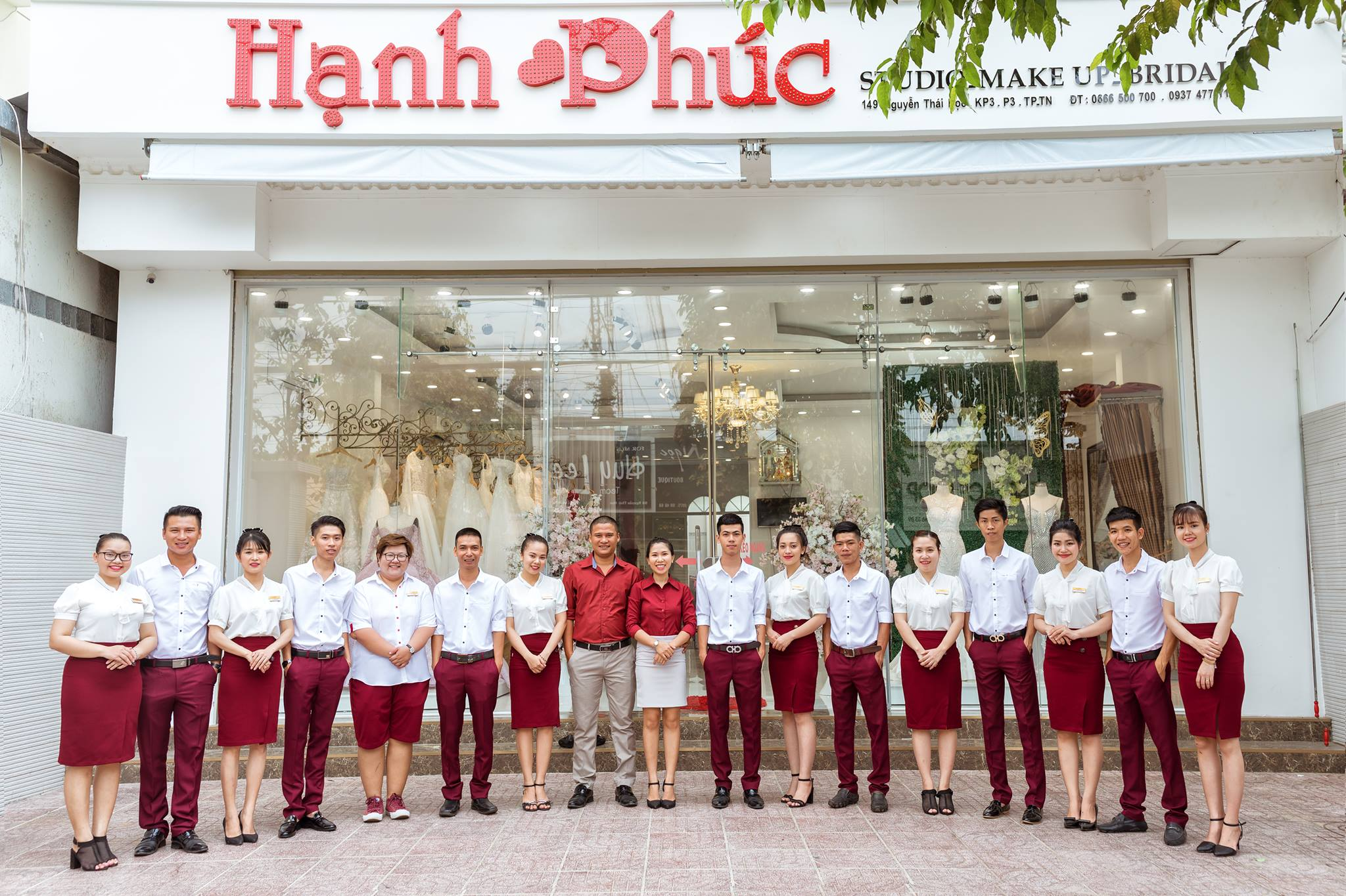 học makeup tại Tây Ninh - Hạnh Phúc Studio