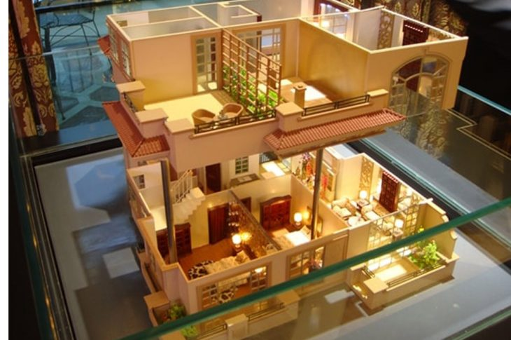 mô hình kiến trúc 2